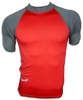 Rashguards XLOT rojo/gris - red/grey