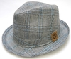 Sombrero *JAQUE* gris tatto/lt. grey ONE SIZE