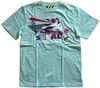 Playera C/R Junior PHEONIX blue sky
